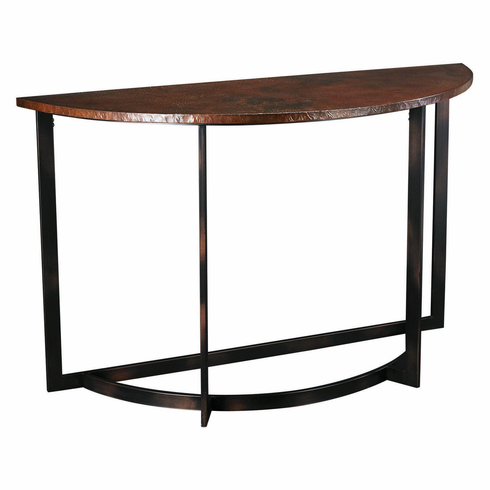 Hammary Nueva Crescent Console table $315 hayneedle