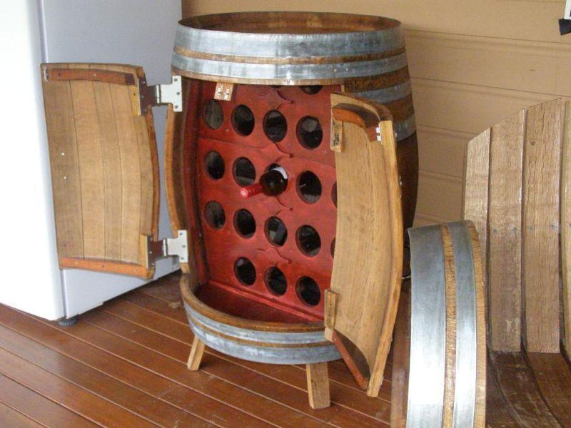 storage oak wine barrels. Genuine Oak Wine Barrels Handcrafted Into Rack   Other Furniture Gumtree Australia Caboolture Area Storage E