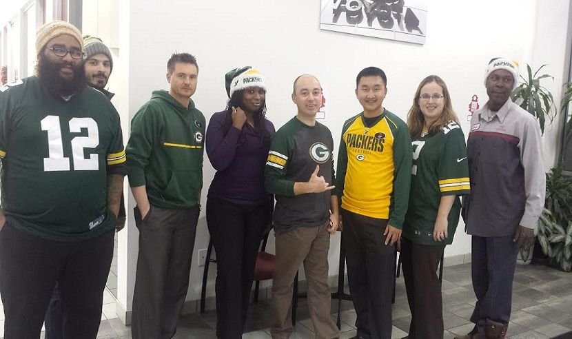 Green Bay Packer's Day At Andrew Toyota Scion. (With