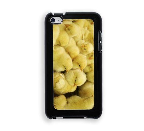 Baby Chickens Chicks Protective Designer Snap-On Case - Fits Apple iPod Touch 4