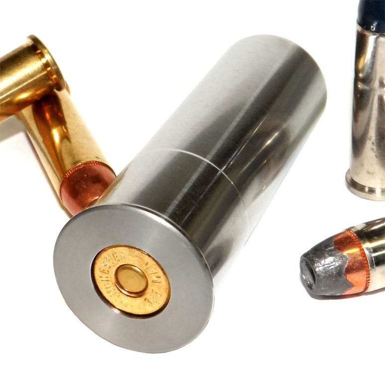 Details about 12GA to 357 Magnum Shotgun Adapter - Chamber