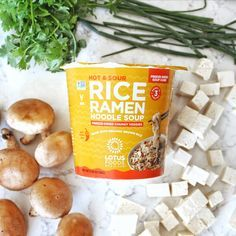 The newest additions to our range of #vegan Rice Ramen Noodle Soup Cups -