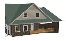 Winged Gable Roof Roof Styles Gable Roof House