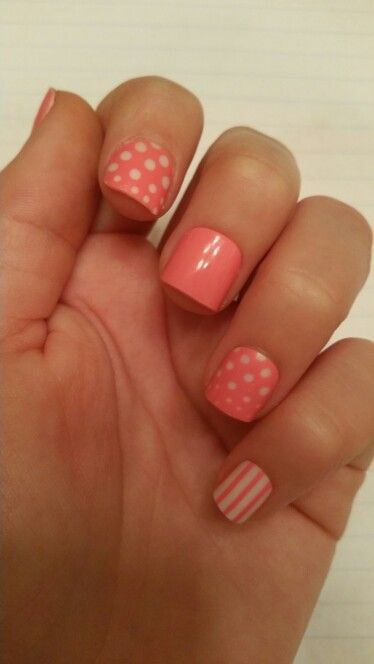 Pink Nail Idea