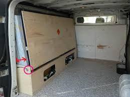 Bildergebnis Fur Banquette Camion Amenage Enclosed Trailers Van Dwelling Camper Interior Van Interior