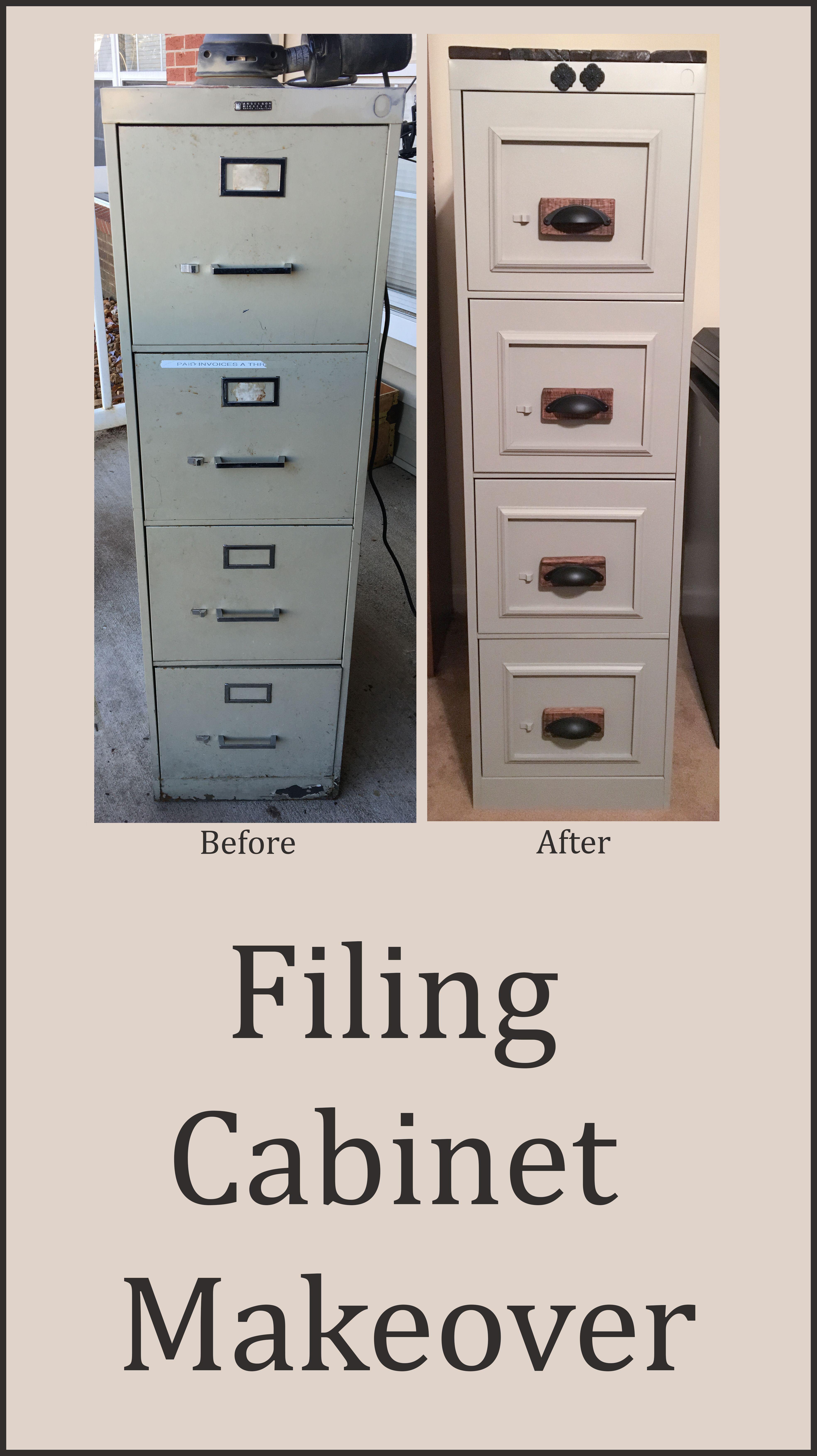 Filing Cabinet Makeover File Cabinet Makeover Filing Cabinet Cabinet Makeover Diy