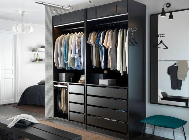 dressing pour ranger sa chambre coucher les mod les du moment panneaux de particules. Black Bedroom Furniture Sets. Home Design Ideas