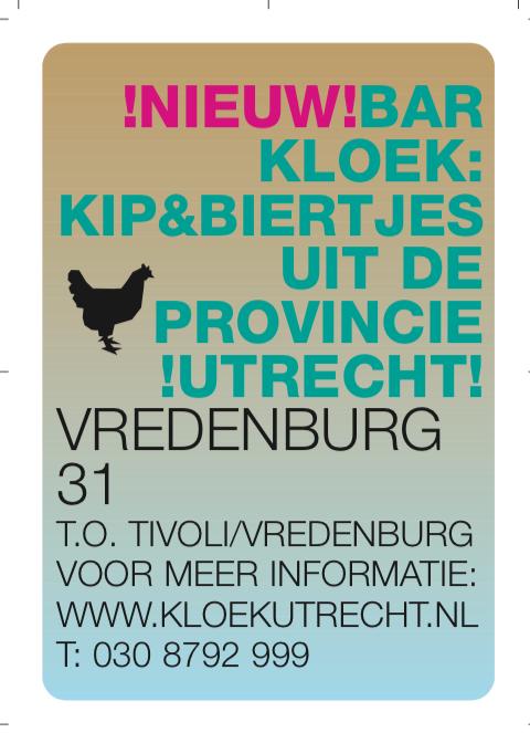 flyer kloek utrecht tivoli vredenburg | kip | pinterest | utrecht