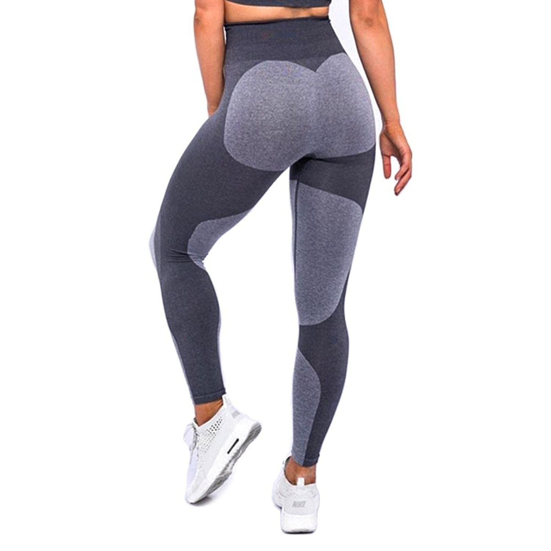 95279a1e6f00f Women's Heart Shape Yoga Pants Sport Pants Workout Leggings Sexy High Waist  Trousers - 5 Grey Heart - CQ180KXN6ZE,Women's Clothing, Active, Active Pants  ...