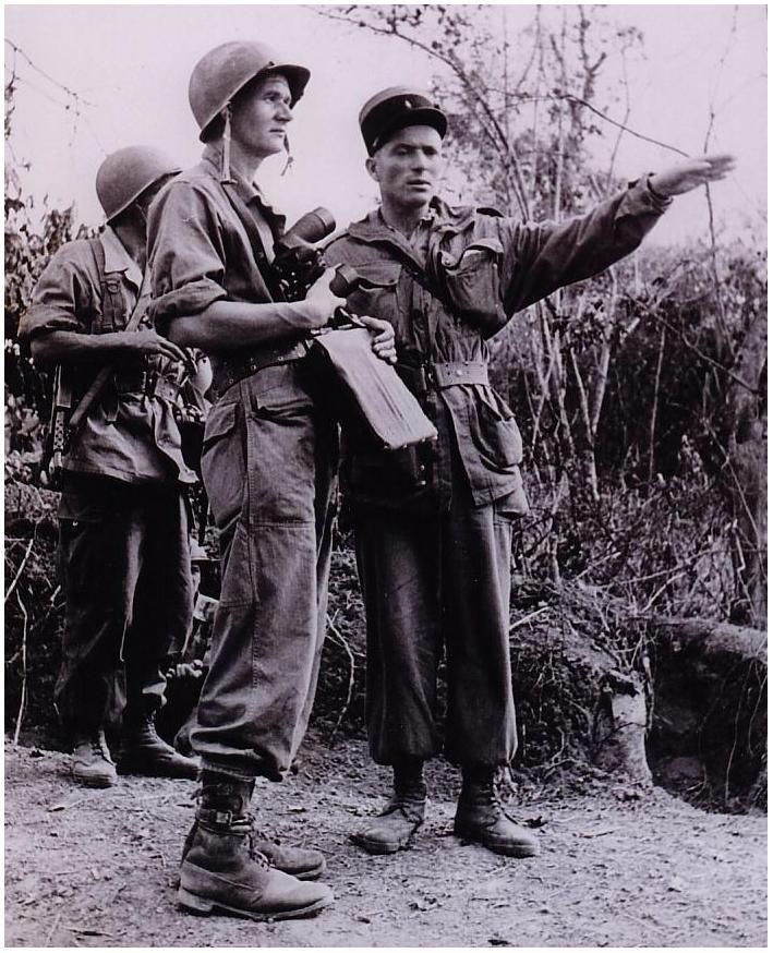 Helie Denoix De Saint Marc During Battle For Black River Bataille De La Riviere Noire 1952 Militari Pilot Leggende