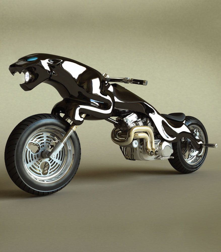 I Would Kill To Own This Jaguar Leaper Motorbike Photo Gallery