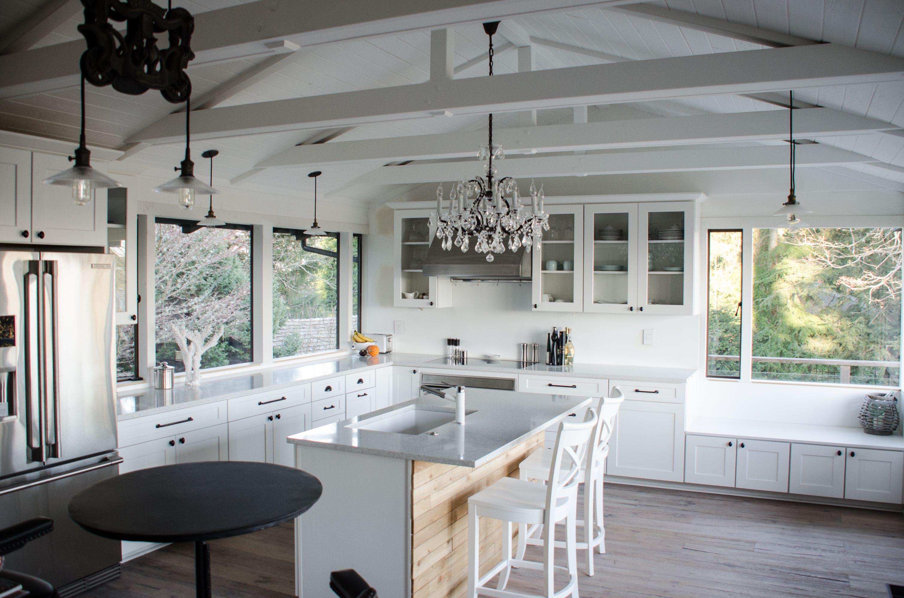 low vaulted ceiling ideas - Google Search | Vaulted ...