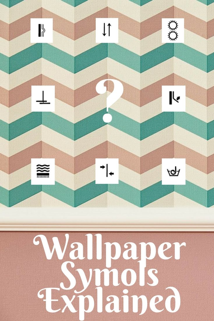 BEFORE buying wallpaper, familiarize yourself with the care symbols so that you can best judge whether a wallpaper will suit your individual needs!