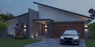 Image Result For Flat Roof House Designs Australia Facade House Flat Roof House Skillion Roof
