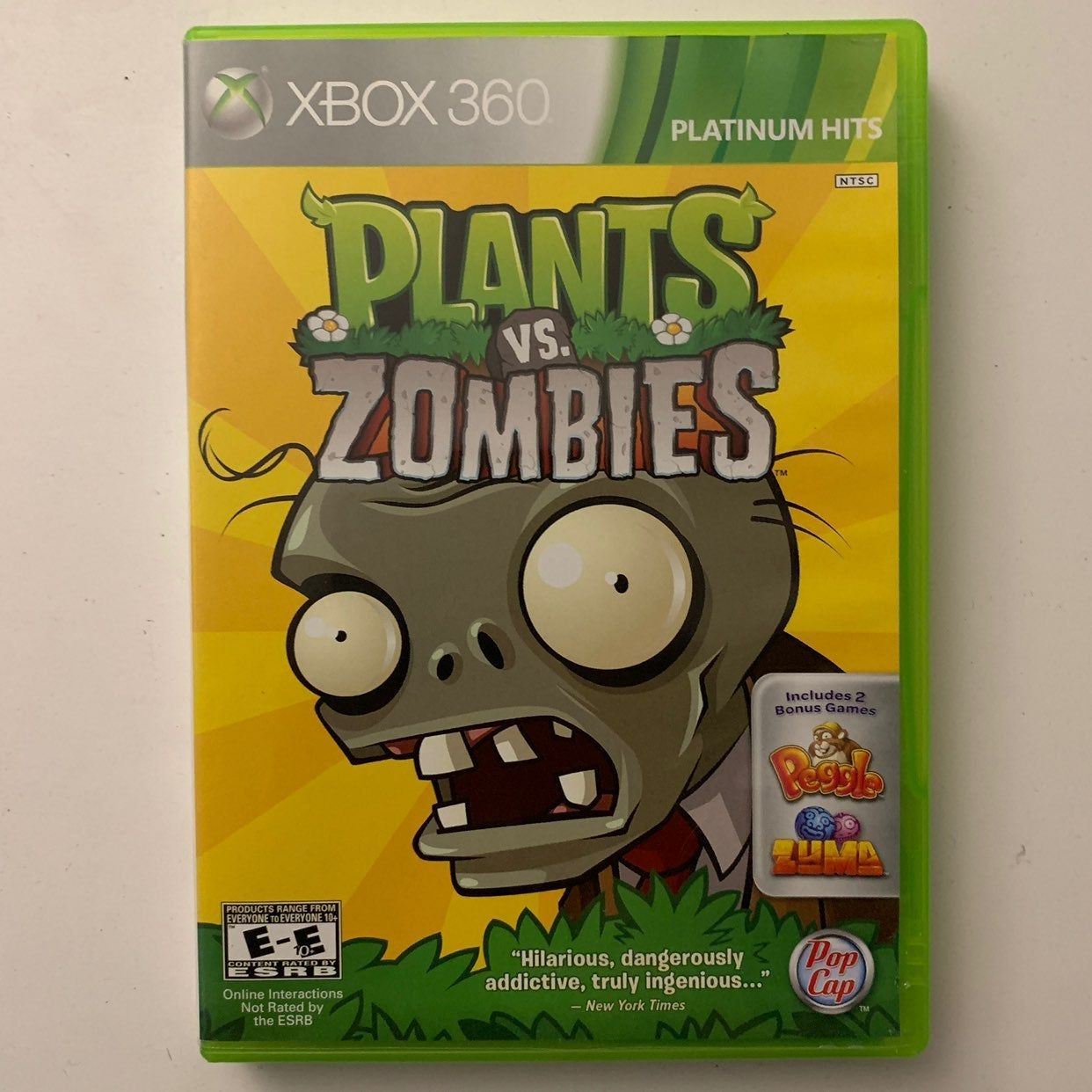 Xbox 360 Game Plants Vs Zombies On Mercari Xbox 360 Games Xbox Xbox 360