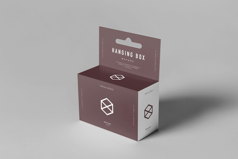 Download Hanging Box Mock Up By Yogurt86 On Envato Elements Business Card Mock Up Box Mockup Hanging