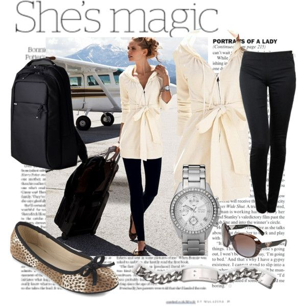 """Travel comfy & stylish"" by mrsjillc on Polyvore"