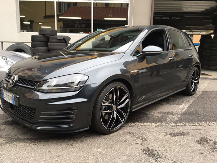 volkswagen golf vii mak sarthe blackmirror jante jantes wheel wheels rim rims. Black Bedroom Furniture Sets. Home Design Ideas