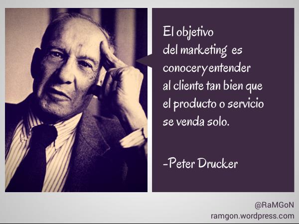 El Marketing Según Peter Drucker Marketing Y Publicidad