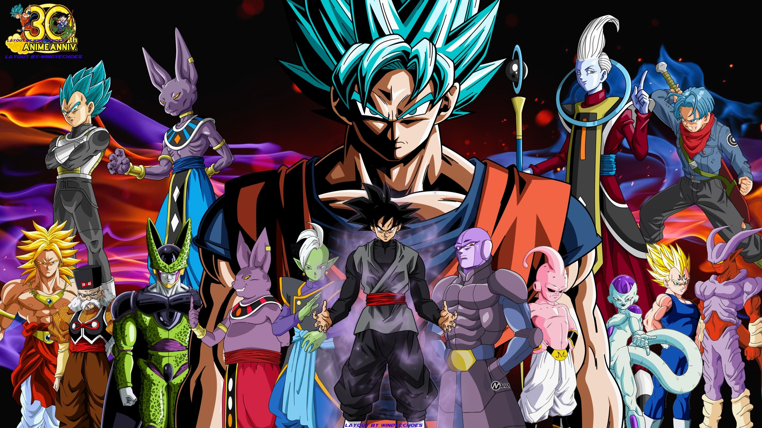 10 Most Popular Dragon Ball Super Wallpaper 2560x1440 Full Hd 1080p