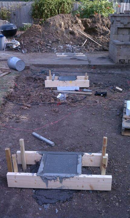 Footings For Second Story Deck Deck Footings Building