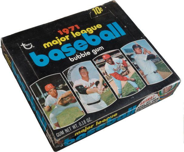 Baseball Cardsunopened Packsdisplay Boxes 1971 Topps Baseball 4th