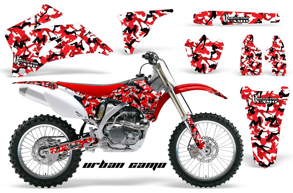 Amr Racing Off Road Dirt Bike Graphic Mx Decal Kit Yamaha Yz - Cool custom motorcycle stickers