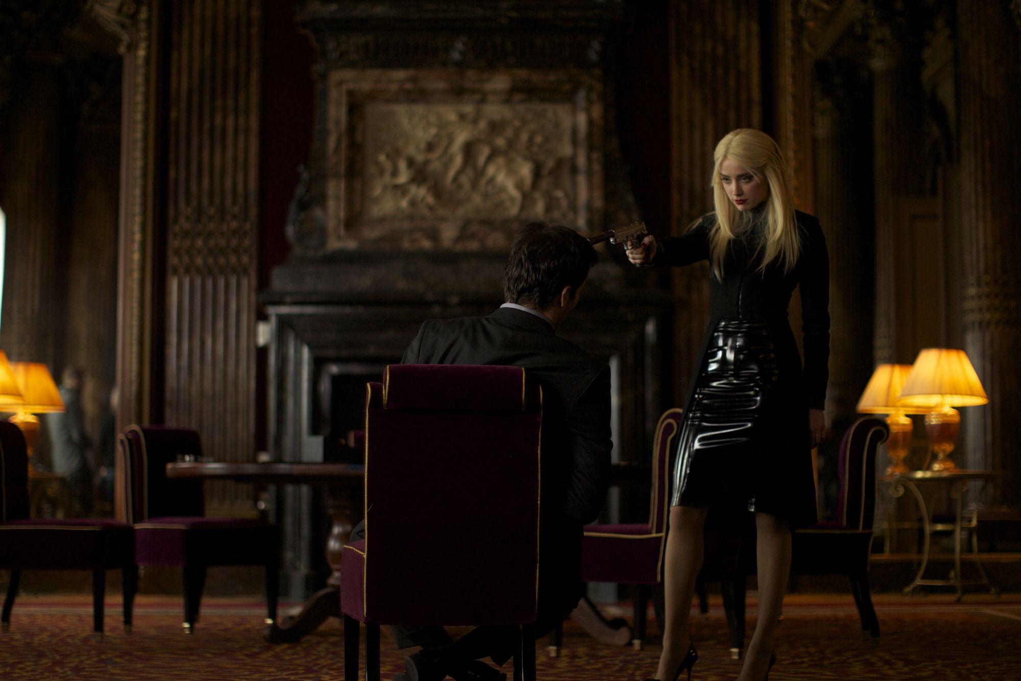 Amber Heard As Vivi Delay In 3 Days To Kill 3 Days To Kill Amber Heard The Stepfather