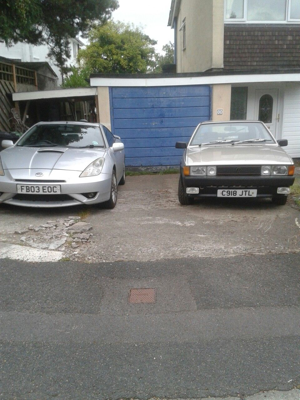 1985 VW Scirocco GTX and 2003 Toyota Celica VVTi  | My Cars | Vw