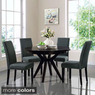 Shop For Parcel Upholstered Grey Beige Dining Side Chairget New Dining Room Furniture Outlet Stores Decorating Inspiration
