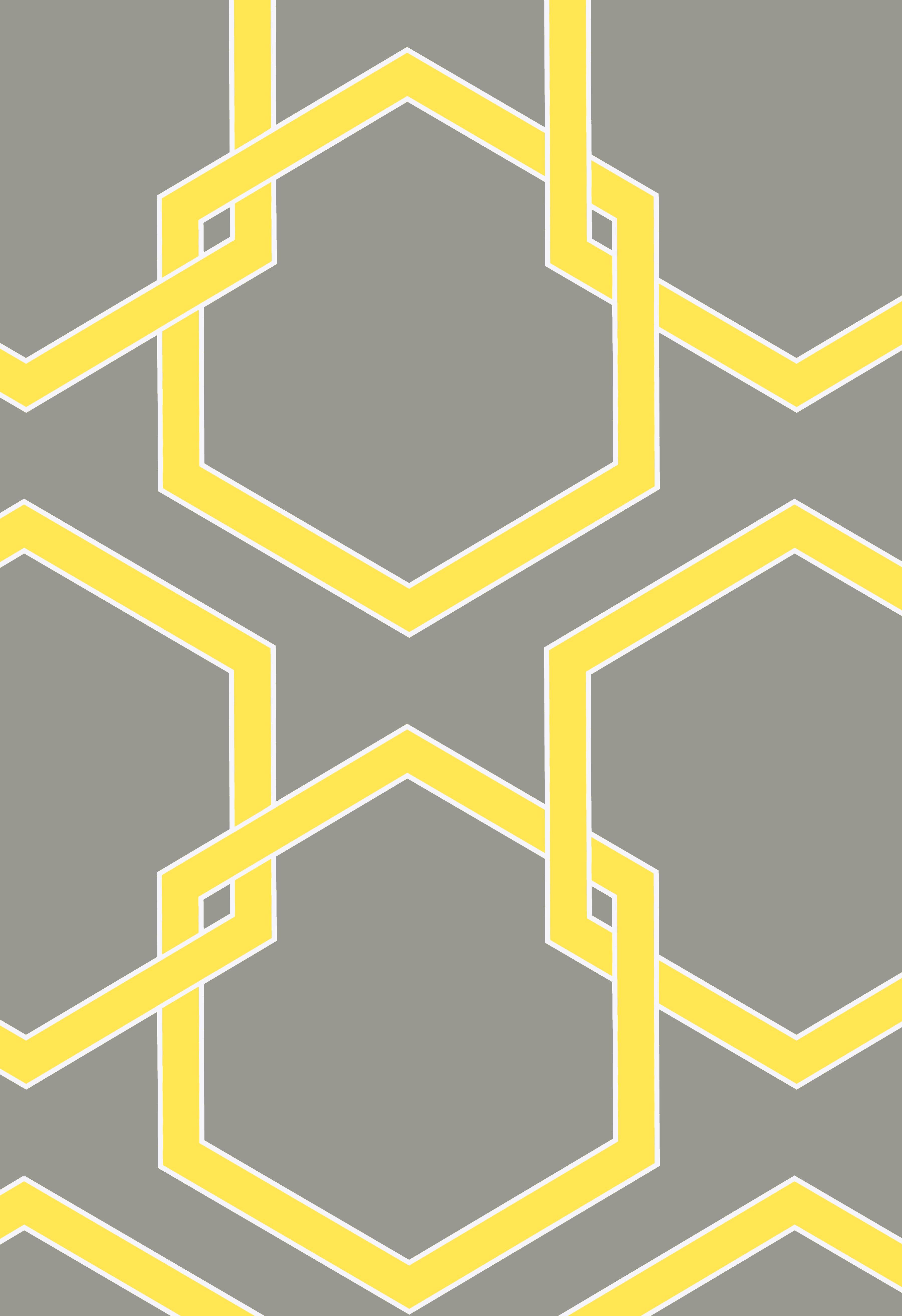 grey & yellow wallpaper http://www.designpublic.com/tempaper ...