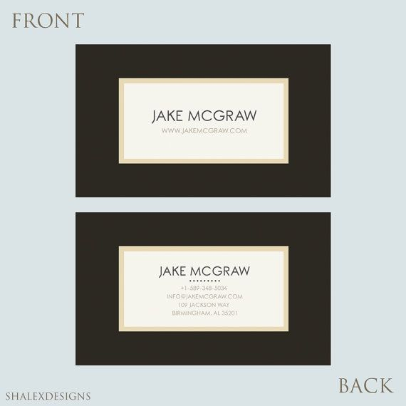 Grab This Beautiful Editable Business Card Businesscard