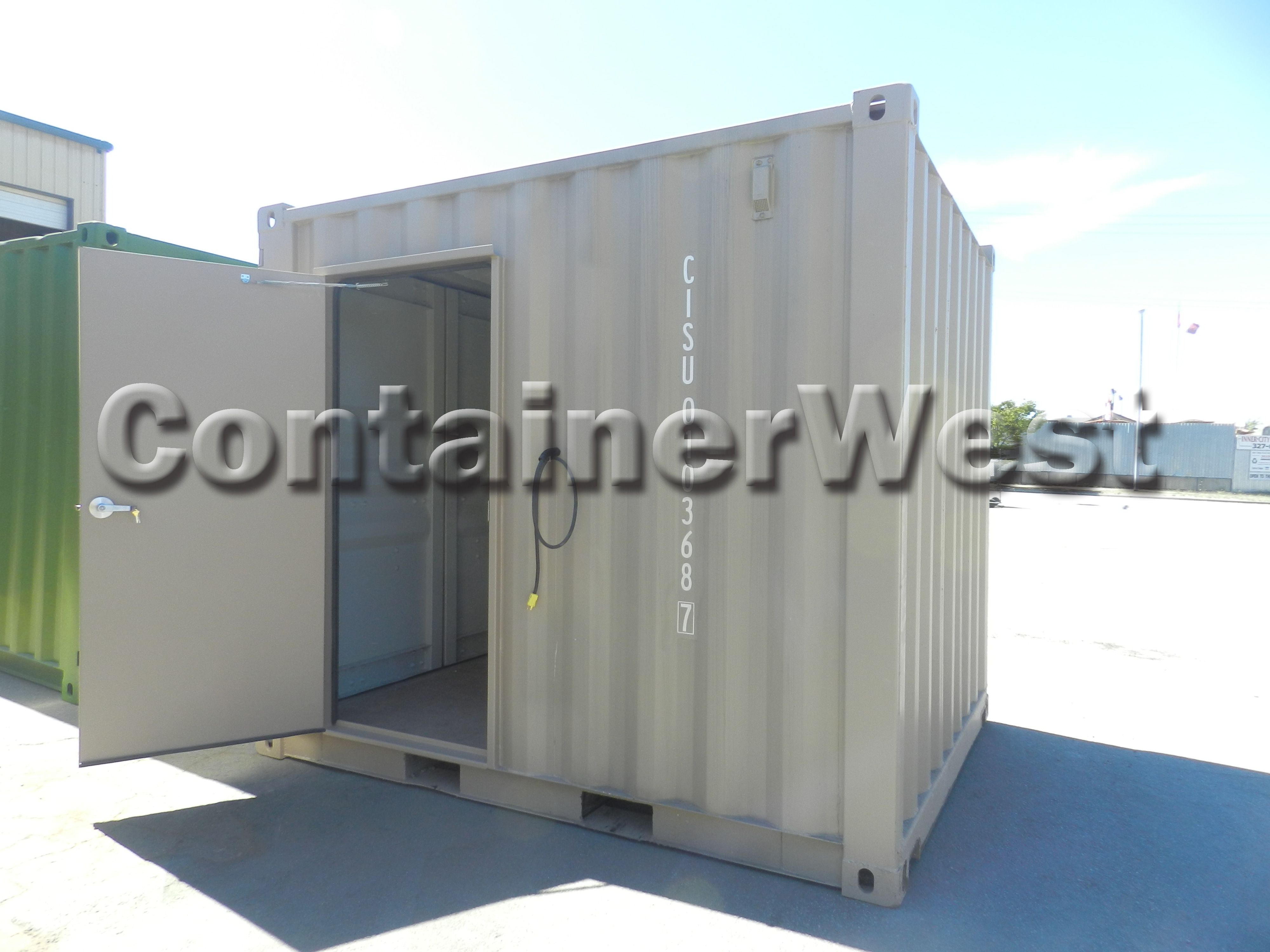 10ft Mini Container With Man Door For Easy Access To Interior Convenient Container House Shipping Container Interior