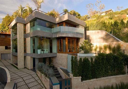 Brilliant Contempory Houses With Roof Decks Story Contemporary Home By Ben Largest Home Design Picture Inspirations Pitcheantrous