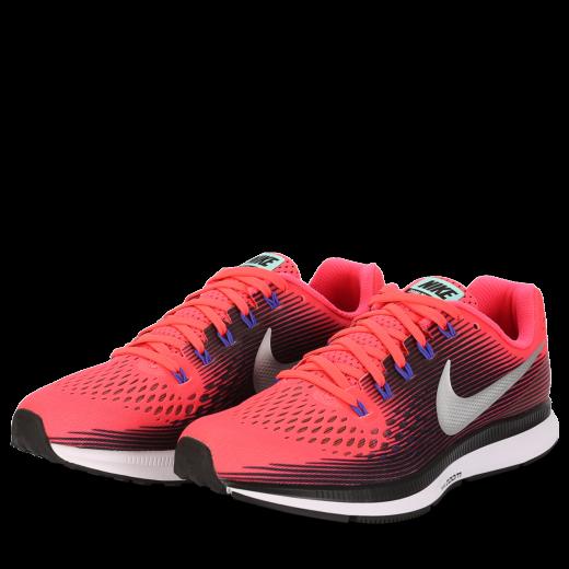 Nike-Air Zoom Pegasus 34 - Dame-Solar Red/Metallic S-1578988
