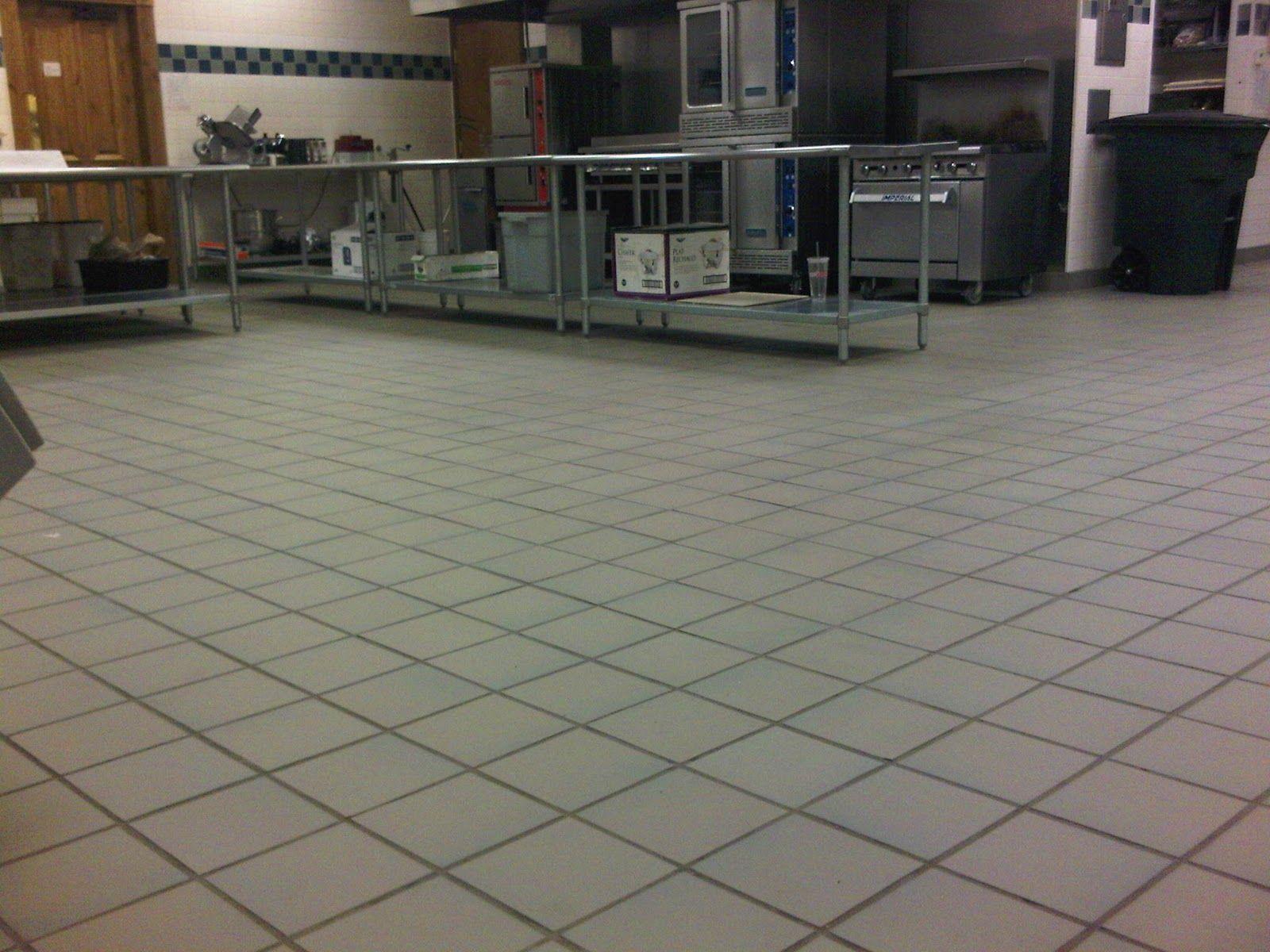Commercial Kitchen Quarry Floor Tile Kitchen Kitchen  ...