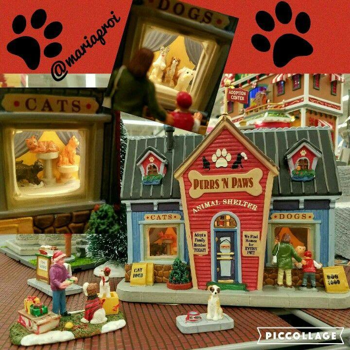 Lemax Animal Shelter / Animal Rescue Christmas Village