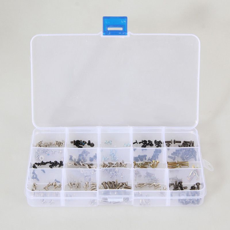 New Arrival 300pcs/Set Assorted Laptop Screws with Box for IBM HP TOSHIBA Sony Dell Samung w/Screwdriver Free Shipping