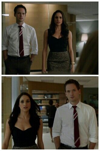 Rachel Zane and Mike Ross. #Suits