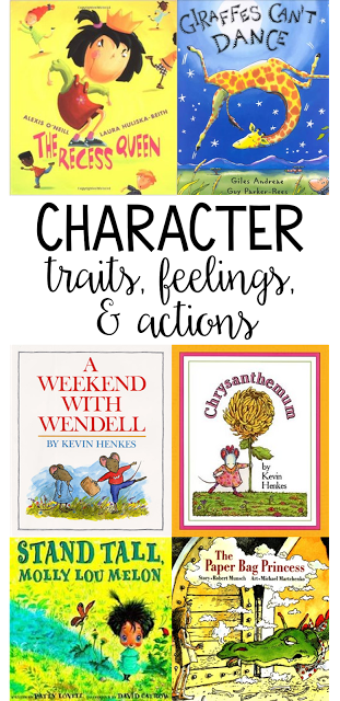 My favorite books for teaching character traits, actions, and ...