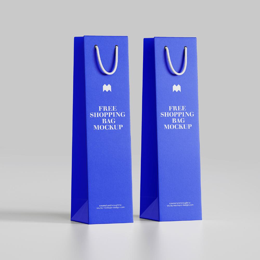 Download Free Wine Bag Mockup On Behance Bag Mockup Wine Bag Free Wine