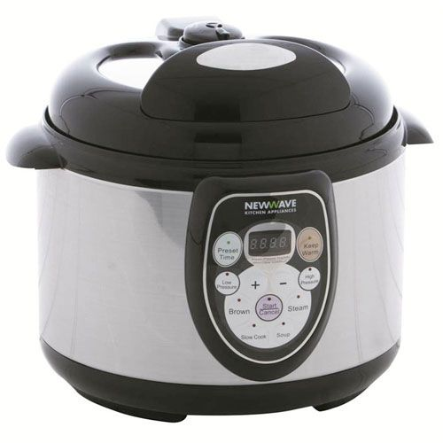New Wave 5 In 1 Multi Cooker Rice Cooker Pressure Cooker Slow