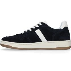 Photo of Dark blue sneakers with white contrast details (40,41,42,43,44,45,46) Manfield