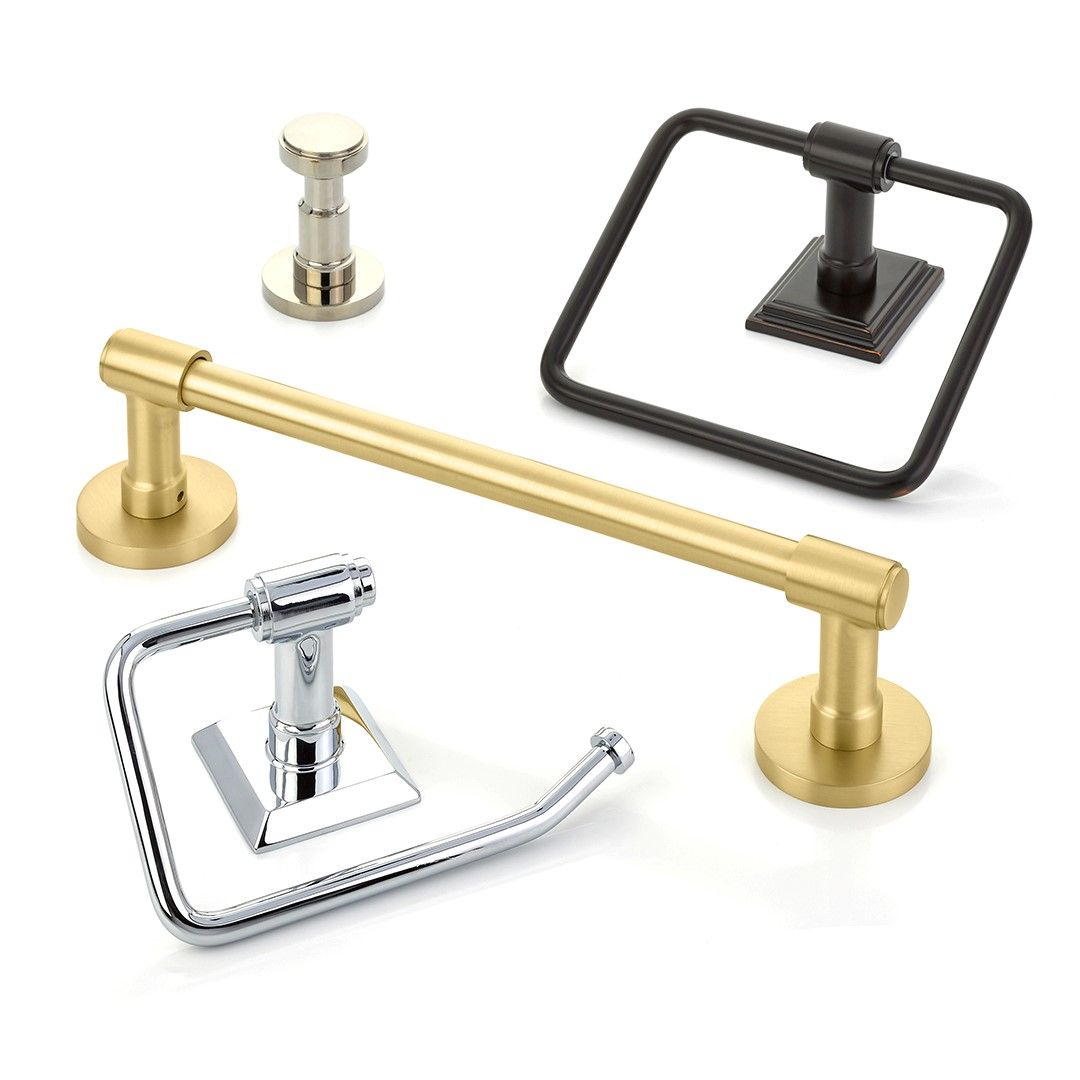 Transitional Bathroom Hardware From Emtek. Coordinate Your Door And Cabinet  Hardware With Your Bath Accessories