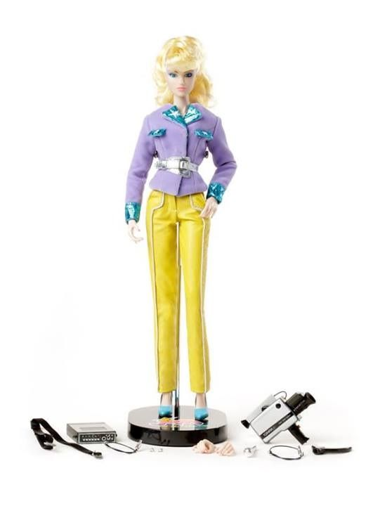 Bright Yellow Shoes for Color Infusion Jem and the Holograms integrity toys
