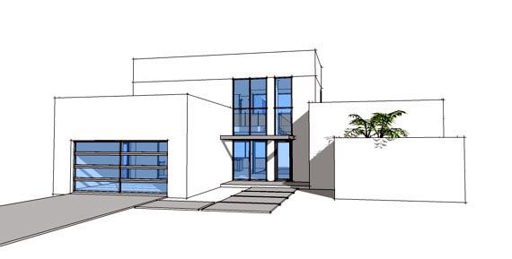 Contemporary modern house plan 70801 modern stairs and for House plans with observation room