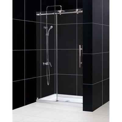 Encore 56 60 X 58 Bypass Semi Frameless Tub Door With Clearmax Technology Shower Doors Frameless Sliding Shower Doors Frameless Shower Doors