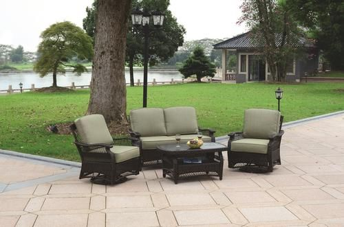 sterling home patio 4 piece bridgeport deep seating collection at rh pinterest com sterling home and patio fresno sterling home and patio orleans collection