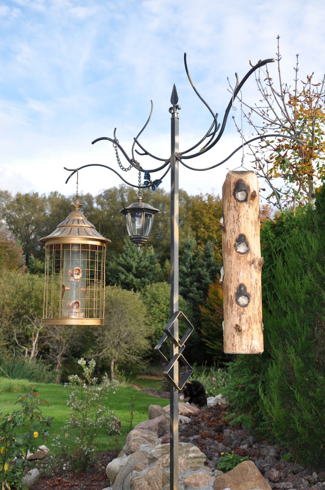 feeder for feeders to decks deck watch youtube bird your how hangers install on