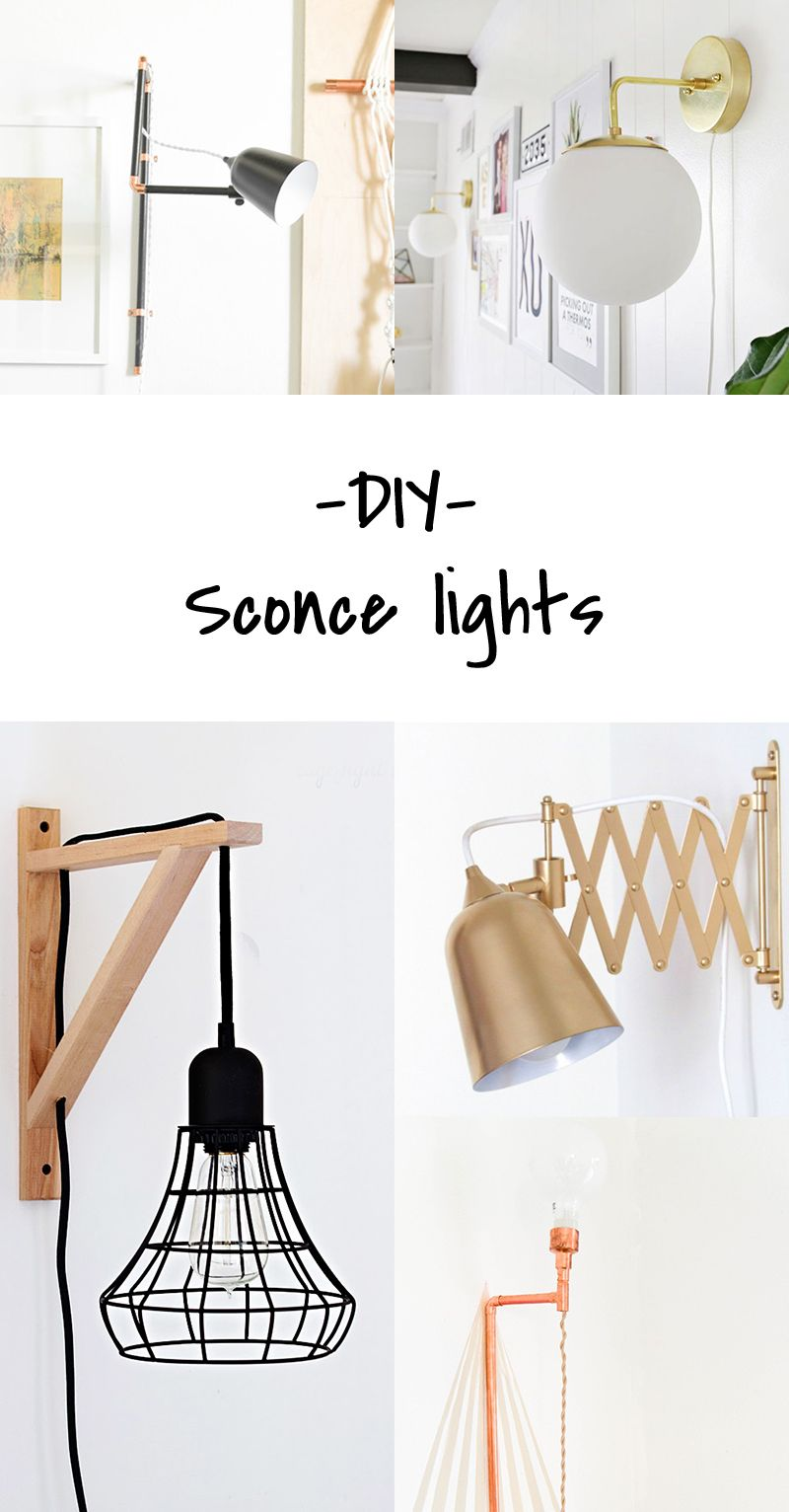 Do It Yourself Lampen Diy To Try Sconce Lights Ideas Pinterest Diy Lampen Haus
